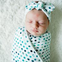 The Perfect Stretchy Swaddle Blanket